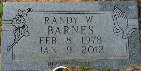 BARNES, RANDY W - Tishomingo County, Mississippi   RANDY W BARNES - Mississippi Gravestone Photos