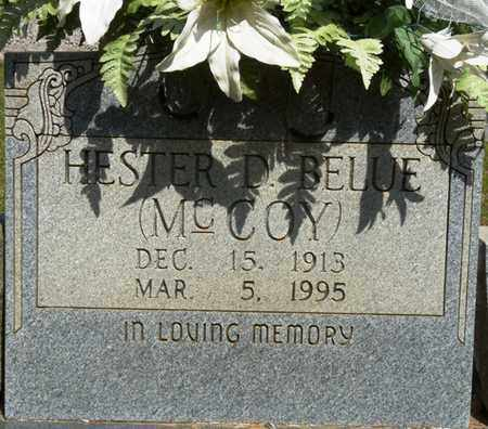 BELUE, HESTER D - Tishomingo County, Mississippi   HESTER D BELUE - Mississippi Gravestone Photos