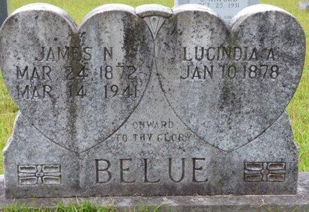 BELUE, LUCINDIA A - Tishomingo County, Mississippi | LUCINDIA A BELUE - Mississippi Gravestone Photos