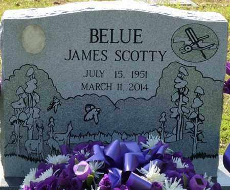 BELUE, JAMES SCOTTY - Tishomingo County, Mississippi | JAMES SCOTTY BELUE - Mississippi Gravestone Photos