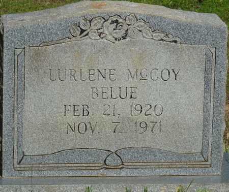 BELUE, LURLENE - Tishomingo County, Mississippi | LURLENE BELUE - Mississippi Gravestone Photos