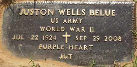 "BELUE (VETERAN WWII), JUSTON WELLS ""JUT"" (NEW) - Tishomingo County, Mississippi | JUSTON WELLS ""JUT"" (NEW) BELUE (VETERAN WWII) - Mississippi Gravestone Photos"