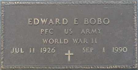BOBO (VETERAN WWII), EDWARD E (NEW) - Tishomingo County, Mississippi | EDWARD E (NEW) BOBO (VETERAN WWII) - Mississippi Gravestone Photos