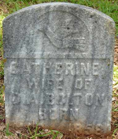 BOLTON, CATHERINE - Tishomingo County, Mississippi | CATHERINE BOLTON - Mississippi Gravestone Photos