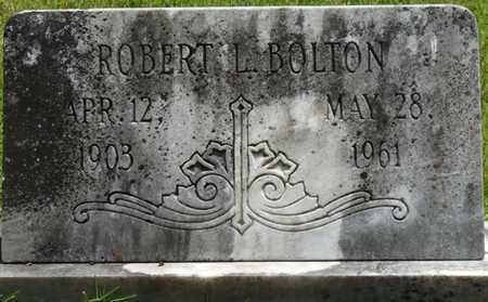 BOLTON, ROBERT L - Tishomingo County, Mississippi   ROBERT L BOLTON - Mississippi Gravestone Photos