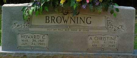BROWNING, HOWARD C - Tishomingo County, Mississippi | HOWARD C BROWNING - Mississippi Gravestone Photos