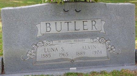 SMITH BUTLER, LUNA E - Tishomingo County, Mississippi | LUNA E SMITH BUTLER - Mississippi Gravestone Photos
