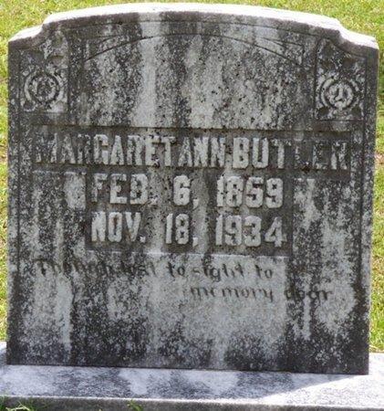 BUTLER, MARGARET ANN - Tishomingo County, Mississippi | MARGARET ANN BUTLER - Mississippi Gravestone Photos