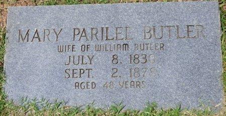 BUTLER, MARY PARILEE - Tishomingo County, Mississippi   MARY PARILEE BUTLER - Mississippi Gravestone Photos