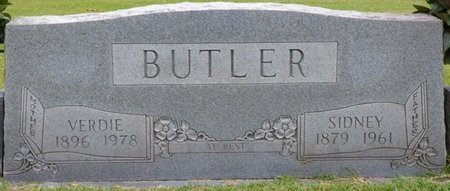 BUTLER, SIDNEY - Tishomingo County, Mississippi | SIDNEY BUTLER - Mississippi Gravestone Photos