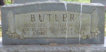 BUTLER, WILLIAM CALVIN - Tishomingo County, Mississippi | WILLIAM CALVIN BUTLER - Mississippi Gravestone Photos