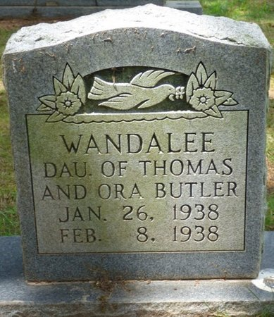 BUTLER, WANDALEE - Tishomingo County, Mississippi   WANDALEE BUTLER - Mississippi Gravestone Photos