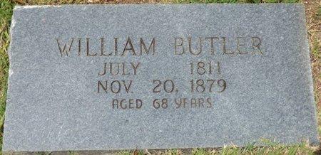 BUTLER, WILLIAM - Tishomingo County, Mississippi   WILLIAM BUTLER - Mississippi Gravestone Photos
