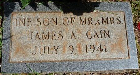 CAIN, INFANT SON - Tishomingo County, Mississippi | INFANT SON CAIN - Mississippi Gravestone Photos