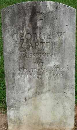 CARTER (VETERAN), GEORGE WASHINGTON (NEW) - Tishomingo County, Mississippi | GEORGE WASHINGTON (NEW) CARTER (VETERAN) - Mississippi Gravestone Photos