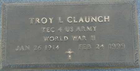 CLAUNCH (VETERAN WWII), TROY L (NEW) - Tishomingo County, Mississippi | TROY L (NEW) CLAUNCH (VETERAN WWII) - Mississippi Gravestone Photos