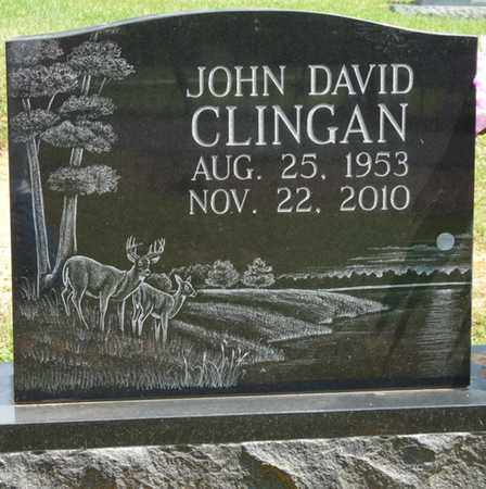 CLINGAN, JOHN DAVID - Tishomingo County, Mississippi | JOHN DAVID CLINGAN - Mississippi Gravestone Photos