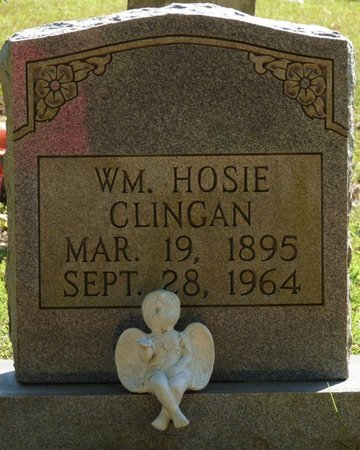 CLINGAN, WILLIAM HOSIE - Tishomingo County, Mississippi | WILLIAM HOSIE CLINGAN - Mississippi Gravestone Photos