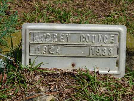 COUNCE, AUDREY - Tishomingo County, Mississippi | AUDREY COUNCE - Mississippi Gravestone Photos