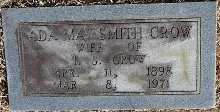 CROW, ADA MAY - Tishomingo County, Mississippi   ADA MAY CROW - Mississippi Gravestone Photos