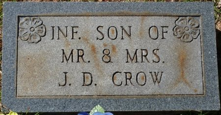 CROW, INFANT SON - Tishomingo County, Mississippi | INFANT SON CROW - Mississippi Gravestone Photos