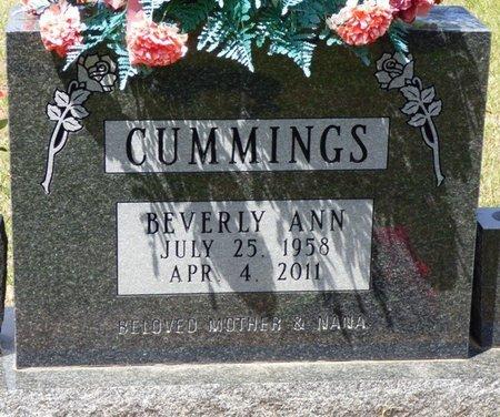 CUMMINGS, BEVERLY ANN - Tishomingo County, Mississippi   BEVERLY ANN CUMMINGS - Mississippi Gravestone Photos