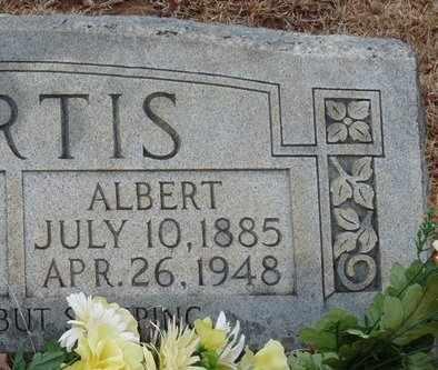 CURTIS, JOHNSTON ALBERT - Tishomingo County, Mississippi   JOHNSTON ALBERT CURTIS - Mississippi Gravestone Photos