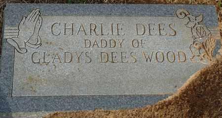 DEES, CHARLIE - Tishomingo County, Mississippi | CHARLIE DEES - Mississippi Gravestone Photos