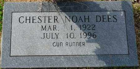 DEES, CHESTER NOAH - Tishomingo County, Mississippi   CHESTER NOAH DEES - Mississippi Gravestone Photos