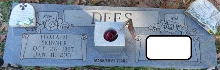 DEES, FLORA M - Tishomingo County, Mississippi   FLORA M DEES - Mississippi Gravestone Photos
