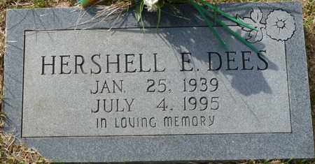 DEES, HERSHELL E - Tishomingo County, Mississippi   HERSHELL E DEES - Mississippi Gravestone Photos