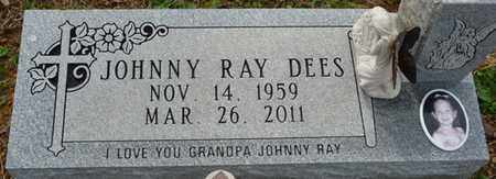 DEES, JOHNNY RAY - Tishomingo County, Mississippi | JOHNNY RAY DEES - Mississippi Gravestone Photos