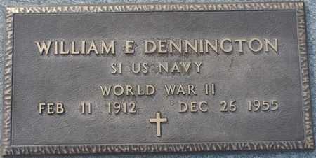 DENNINGTON (VETERAN WWII), WILLIAM E (NEW) - Tishomingo County, Mississippi | WILLIAM E (NEW) DENNINGTON (VETERAN WWII) - Mississippi Gravestone Photos