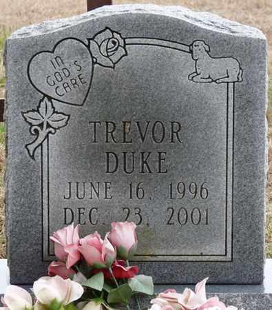 DUKE, TREVOR - Tishomingo County, Mississippi | TREVOR DUKE - Mississippi Gravestone Photos