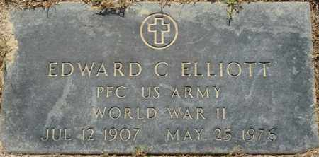 ELLIOTT (VETERAN WWII), EDWARD C (NEW) - Tishomingo County, Mississippi | EDWARD C (NEW) ELLIOTT (VETERAN WWII) - Mississippi Gravestone Photos