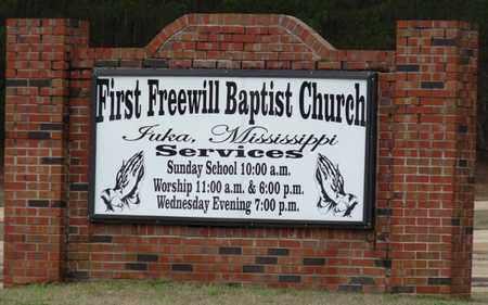 *FIRST FREEWILL BAPTIST CHURCH, CEMETERY - Tishomingo County, Mississippi   CEMETERY *FIRST FREEWILL BAPTIST CHURCH - Mississippi Gravestone Photos