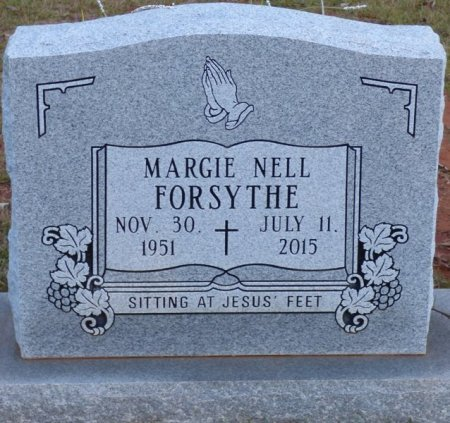 FELTMAN FORSYTHE, MARGIE NELL - Tishomingo County, Mississippi | MARGIE NELL FELTMAN FORSYTHE - Mississippi Gravestone Photos