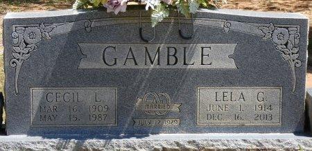 GAMBLE, LELA G - Tishomingo County, Mississippi | LELA G GAMBLE - Mississippi Gravestone Photos