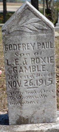 GAMBLE, GODFREY PAUL - Tishomingo County, Mississippi | GODFREY PAUL GAMBLE - Mississippi Gravestone Photos