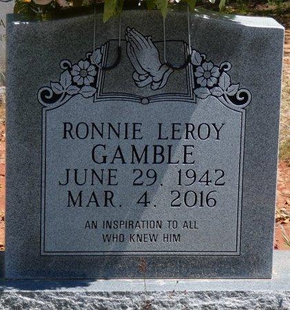 GAMBLE, RONNIE LEROY - Tishomingo County, Mississippi | RONNIE LEROY GAMBLE - Mississippi Gravestone Photos
