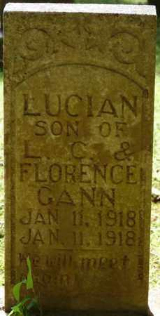 GANN, LUCIAN - Tishomingo County, Mississippi | LUCIAN GANN - Mississippi Gravestone Photos