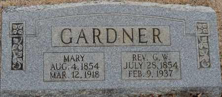 GARDNER, MARY - Tishomingo County, Mississippi | MARY GARDNER - Mississippi Gravestone Photos