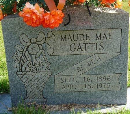 GATTIS, MAUDE MAE - Tishomingo County, Mississippi | MAUDE MAE GATTIS - Mississippi Gravestone Photos