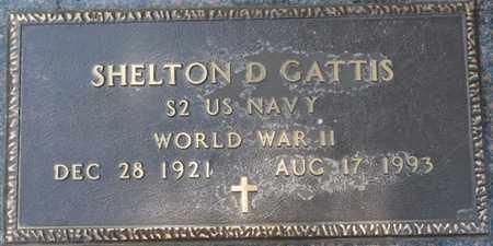 GATTIS (VETERAN WWII), SHELTON D (NEW) - Tishomingo County, Mississippi | SHELTON D (NEW) GATTIS (VETERAN WWII) - Mississippi Gravestone Photos