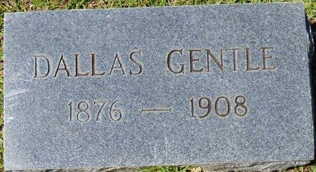 GENTLE, DALLAS - Tishomingo County, Mississippi | DALLAS GENTLE - Mississippi Gravestone Photos