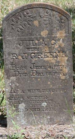 "GREENE, JULIA C ""JULIE"" - Tishomingo County, Mississippi   JULIA C ""JULIE"" GREENE - Mississippi Gravestone Photos"