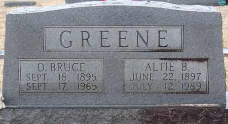 GREENE, OLEN BRUCE - Tishomingo County, Mississippi | OLEN BRUCE GREENE - Mississippi Gravestone Photos
