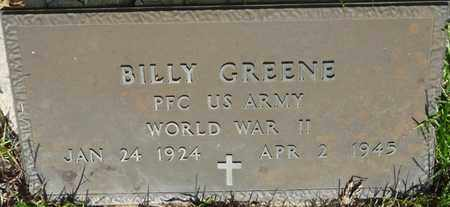 GREENE (VETERAN WWII), BILLY (NEW) - Tishomingo County, Mississippi   BILLY (NEW) GREENE (VETERAN WWII) - Mississippi Gravestone Photos