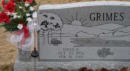 GRIMES, STEVE E - Tishomingo County, Mississippi | STEVE E GRIMES - Mississippi Gravestone Photos