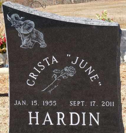 "HARDIN, CRISTA ""JUNE"" - Tishomingo County, Mississippi   CRISTA ""JUNE"" HARDIN - Mississippi Gravestone Photos"